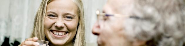 Fotos taget i forbindelse med kampagne for besøgstjenesten 2006